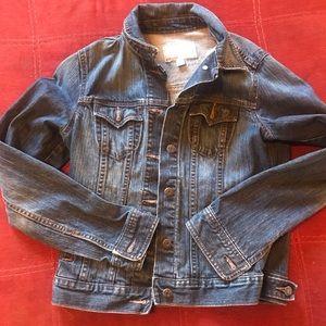 Old navy denim jean jacket medium
